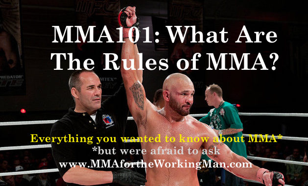 rules of MMA